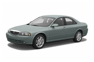 3/4 Front Glamour 2004 Lincoln LS