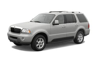 3/4 Front Glamour 2004 Lincoln Aviator