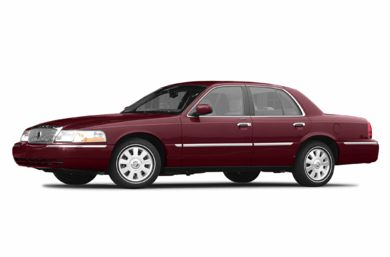 3/4 Front Glamour 2004 Mercury Grand Marquis