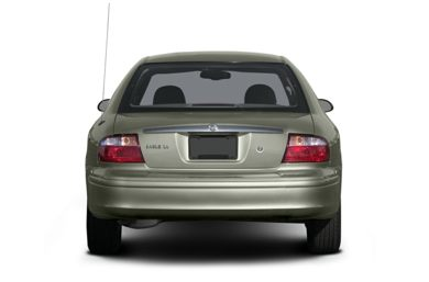 Rear Profile  2004 Mercury Sable