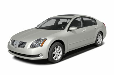 3/4 Front Glamour 2004 Nissan Maxima