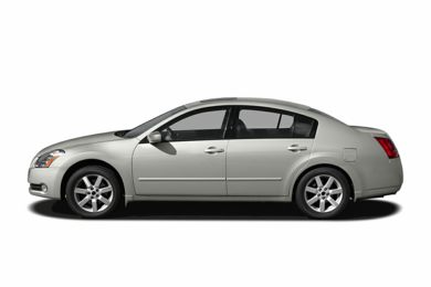 90 Degree Profile 2004 Nissan Maxima