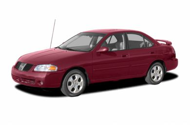 3/4 Front Glamour 2004 Nissan Sentra