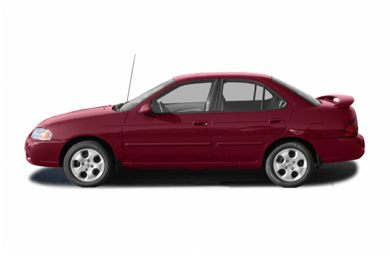 90 Degree Profile 2004 Nissan Sentra