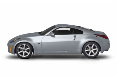 90 Degree Profile 2004 Nissan 350Z