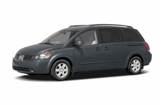 3/4 Front Glamour 2004 Nissan Quest