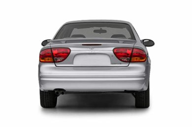 Rear Profile  2004 Oldsmobile Alero