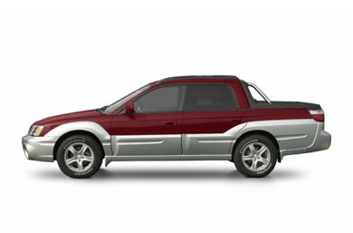 90 Degree Profile 2004 Subaru Baja