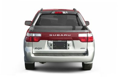 Rear Profile  2004 Subaru Baja