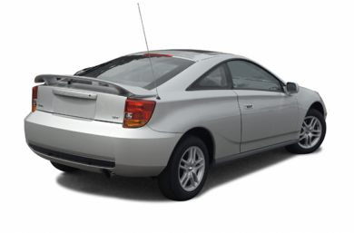 3/4 Rear Glamour  2004 Toyota Celica