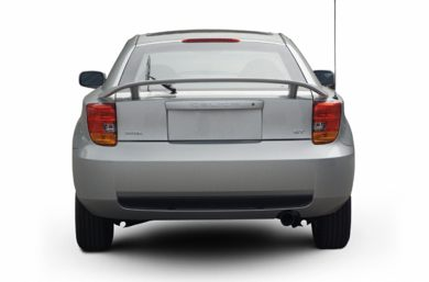Rear Profile  2004 Toyota Celica