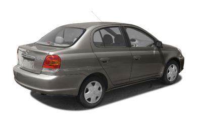 3/4 Rear Glamour  2004 Toyota Echo