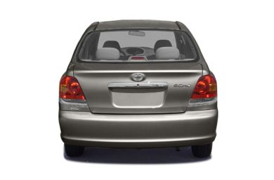 Rear Profile  2004 Toyota Echo