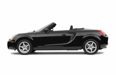 90 Degree Profile 2004 Toyota MR2 Spyder