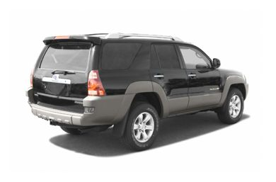 3/4 Rear Glamour  2004 Toyota 4Runner