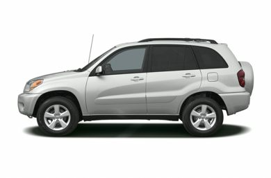 90 Degree Profile 2004 Toyota RAV4