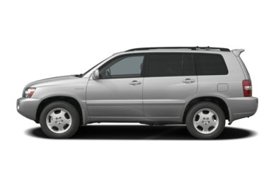 90 Degree Profile 2004 Toyota Highlander