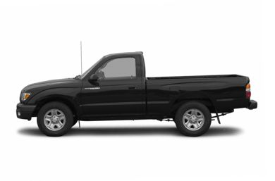 90 Degree Profile 2004 Toyota Tacoma