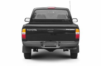 Rear Profile  2004 Toyota Tacoma