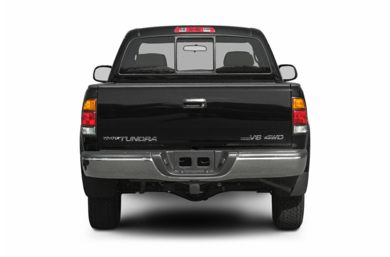 Rear Profile  2004 Toyota Tundra