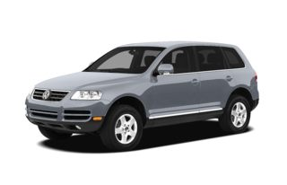 3/4 Front Glamour 2004 Volkswagen Touareg