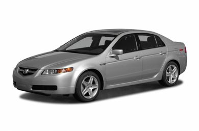 3/4 Front Glamour 2005 Acura TL