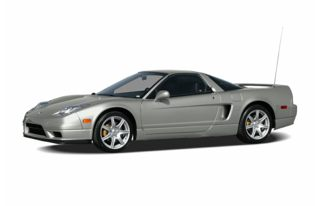 3/4 Front Glamour 2005 Acura NSX-T