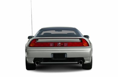 Rear Profile  2005 Acura NSX-T