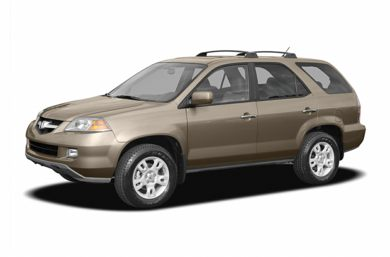 3/4 Front Glamour 2005 Acura MDX