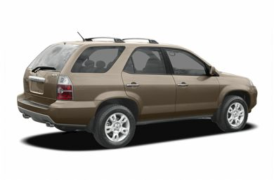 3/4 Rear Glamour  2005 Acura MDX