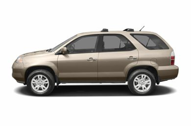 90 Degree Profile 2005 Acura MDX