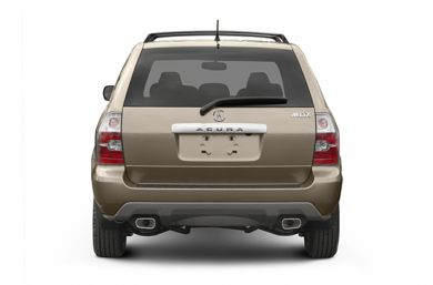 Rear Profile  2005 Acura MDX