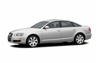 3/4 Front Glamour 2005 Audi A6