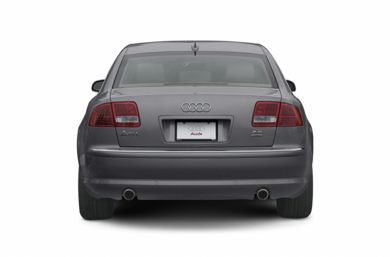 Rear Profile  2005 Audi A8
