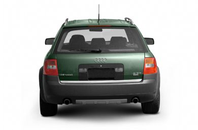 Rear Profile  2005 Audi allroad