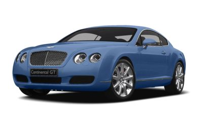 3/4 Front Glamour 2005 Bentley Continental GT
