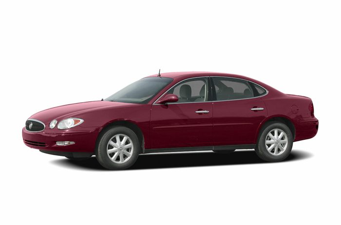 2005 buick lacrosse specs safety rating mpg carsdirect. Black Bedroom Furniture Sets. Home Design Ideas
