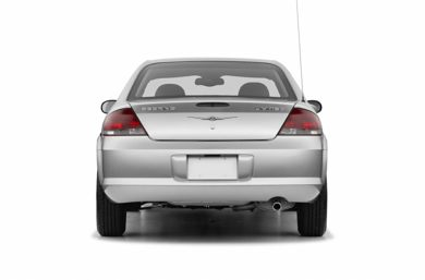 Rear Profile  2005 Chrysler Sebring