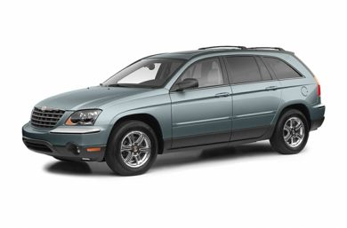 3/4 Front Glamour 2005 Chrysler Pacifica