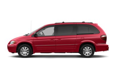 90 Degree Profile 2005 Chrysler Town & Country