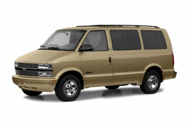 3/4 Front Glamour 2005 Chevrolet Astro