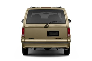 Rear Profile  2005 Chevrolet Astro