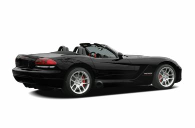 3/4 Rear Glamour  2005 Dodge Viper