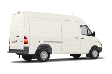 3/4 Rear Glamour  2005 Dodge Sprinter Van 3500