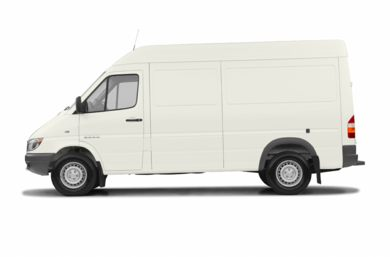 90 Degree Profile 2005 Dodge Sprinter Van 3500