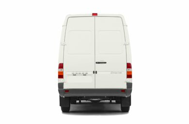 Rear Profile  2005 Dodge Sprinter Van 3500