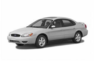 3/4 Front Glamour 2005 Ford Taurus