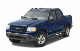 3/4 Front Glamour 2005 Ford Explorer Sport Trac