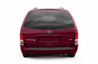 Rear Profile  2005 Ford Freestar