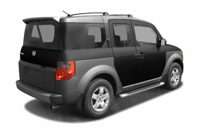 3/4 Rear Glamour  2005 Honda Element